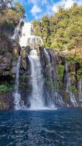 waterfall in La Reunion