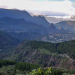 beautiful landscape in La Reunion