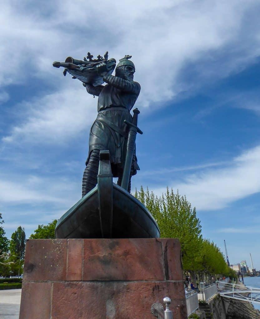 Hagen monument in Worms