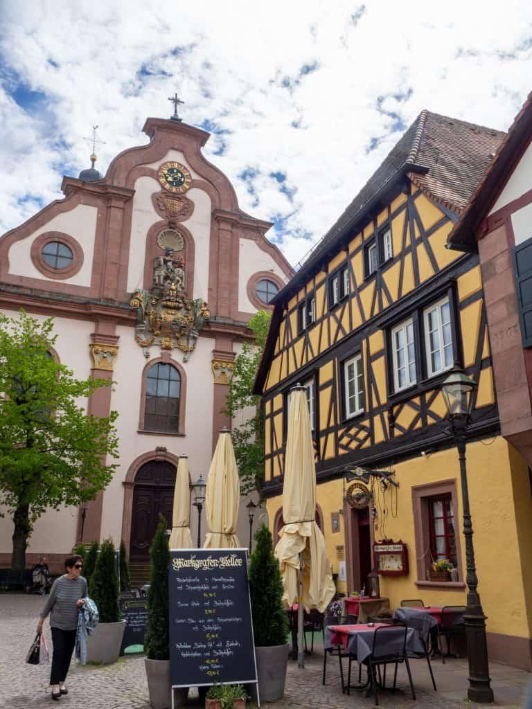 Ettlingen in der Nähe von Karlsruhe