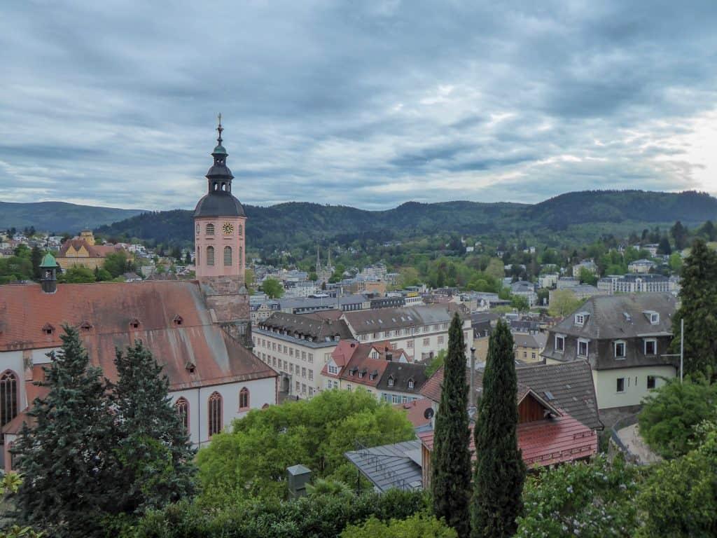 Overview of Baden-Baden