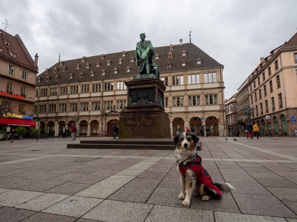 Gutenberg Platz in Straßburg