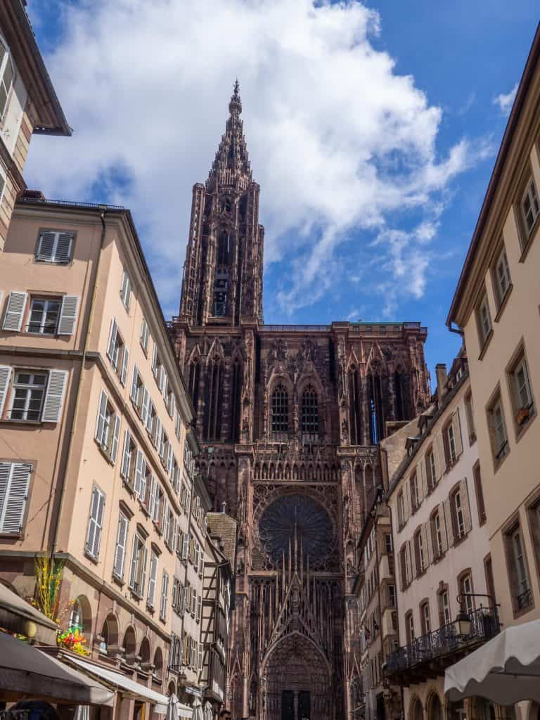 Kathedrale Notre Dame in Strasbourg