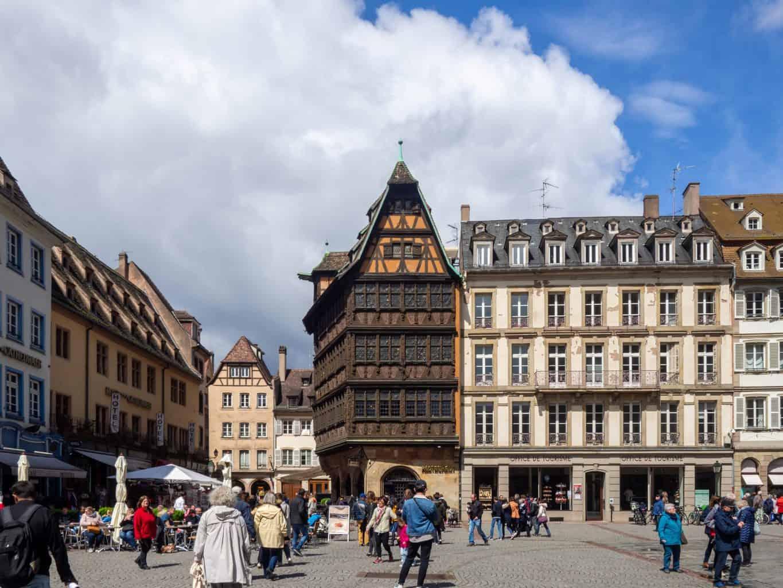 Domplatz in Straßburg
