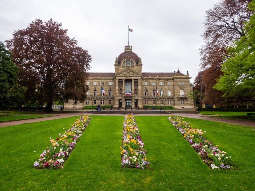 Platz der Republik in Strasbourg
