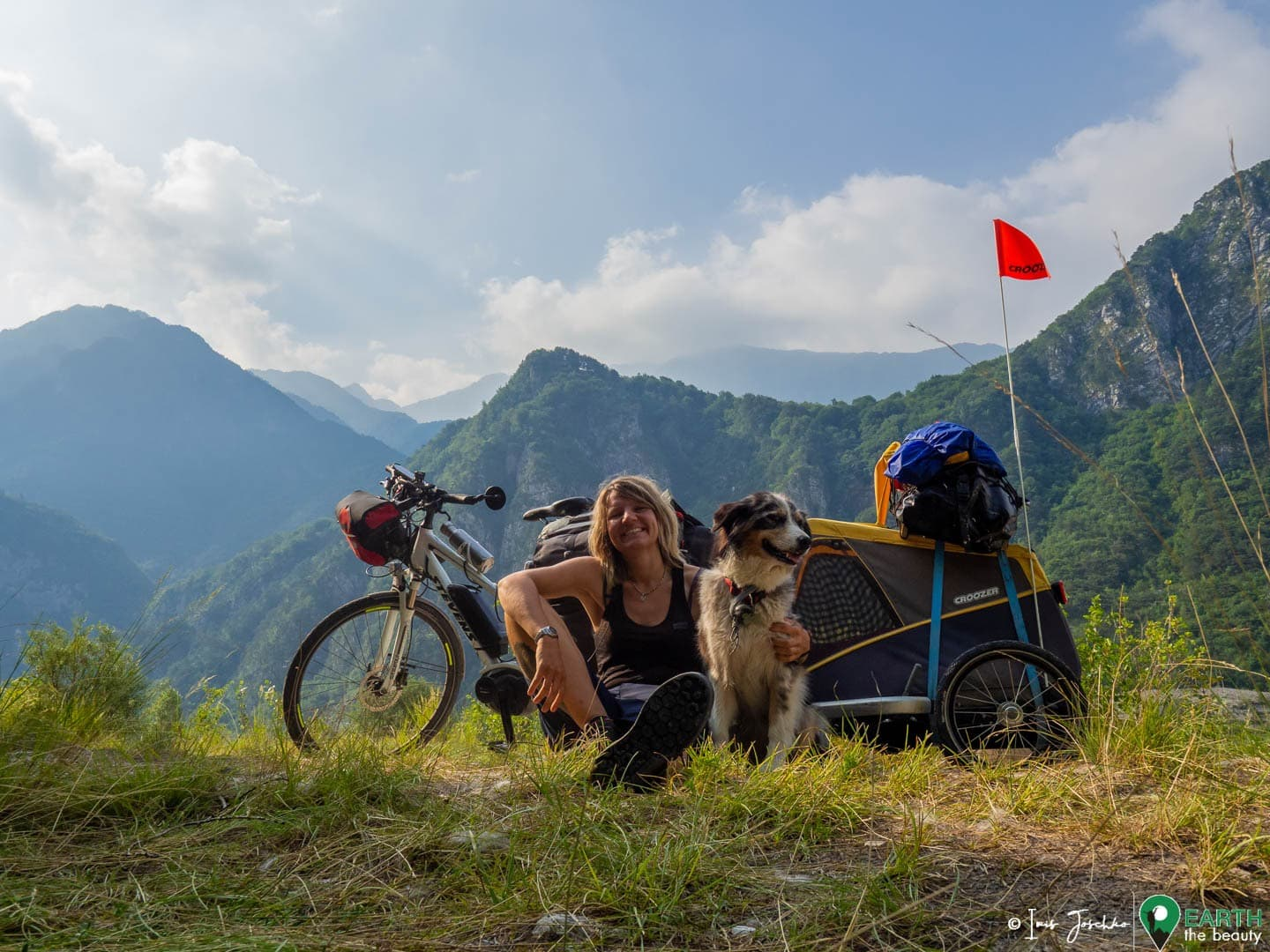 Across Italy by bike and my dog Zuri – the best pictures