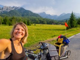 6 months alone as woman with my bicycle and my dog Zuri through Europe