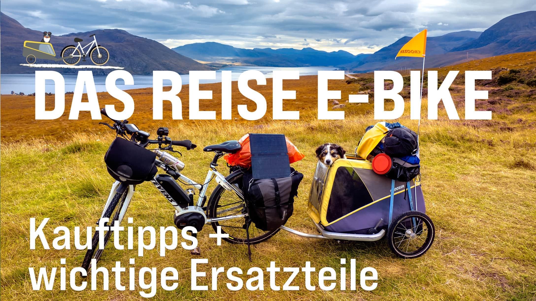 Das Reise E-Bike