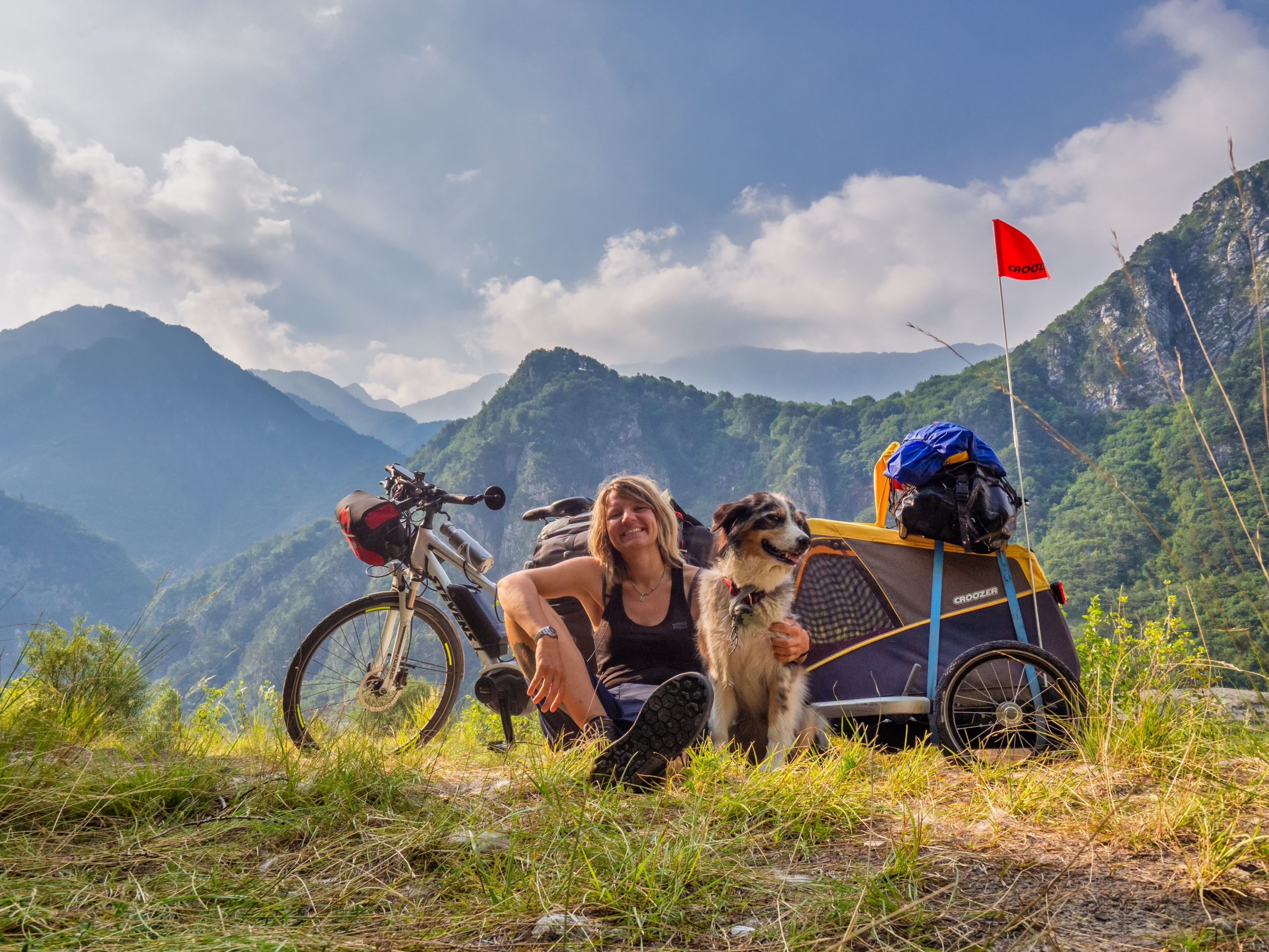 Radreise Videos 6 Monate Europa mit Hund und E-Bike