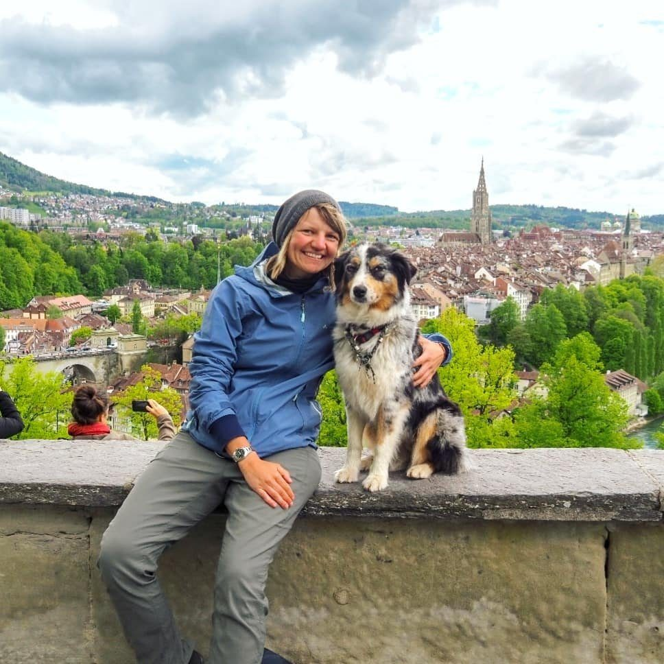 Cycling Europe with my dog